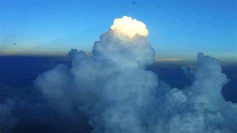 Flying in Thunderstorm Clouds - YouTube