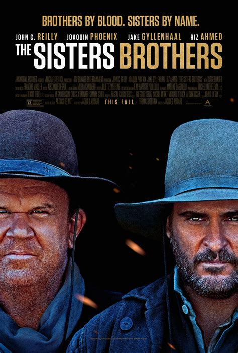 Dark Comedy The Sisters Brothers Unveils A New Poster