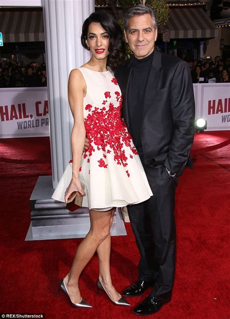 George Clooney gushes over wife Amal who's gone from
