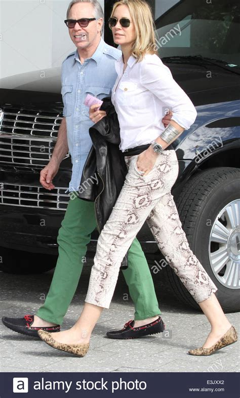 Fashion designer Tommy Hilfiger and wife Dee Ocleppo take