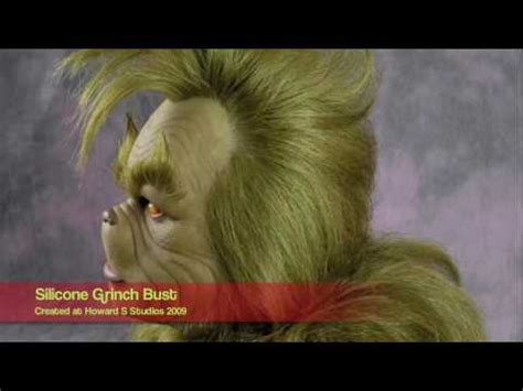 Jim Carrey 'The Grinch' - Fullsized Silicone Bust - Rick