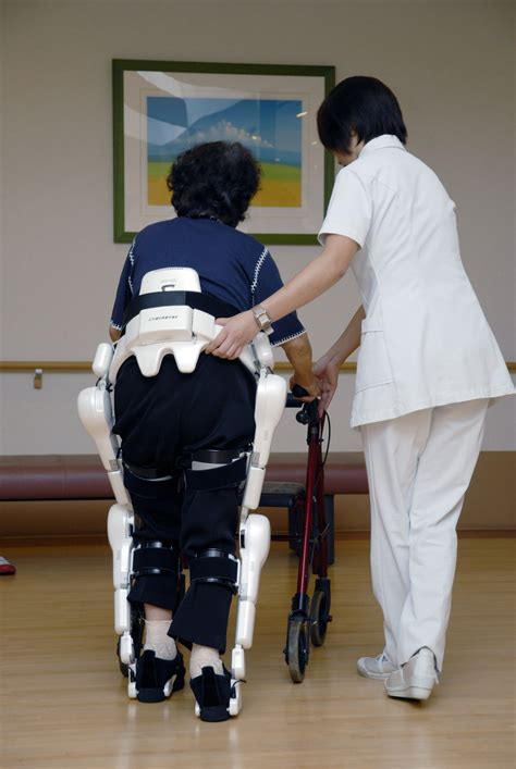Exoskeletons await in work/care closet   The Japan Times