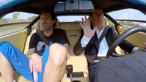 Jerry Seinfeld & Jim Carey - in the Countach - YouTube